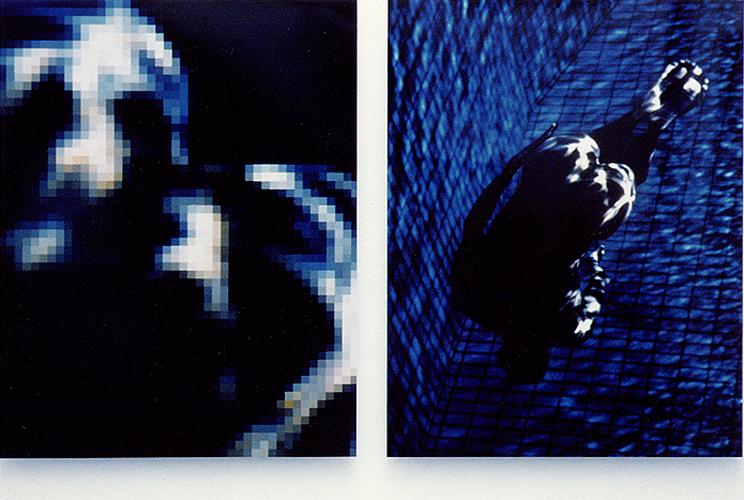 EXPRTT 3, 1990/1995, 120 x 155 cm / x2, tirages photographiques Cibachrome sur alucubond