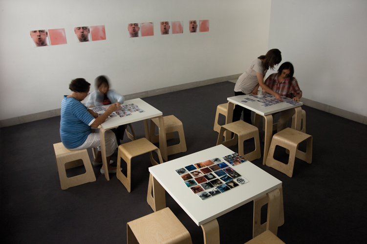 Memory, jeu interactif, centre d'art Stuttgart Sindelfingen, 2008