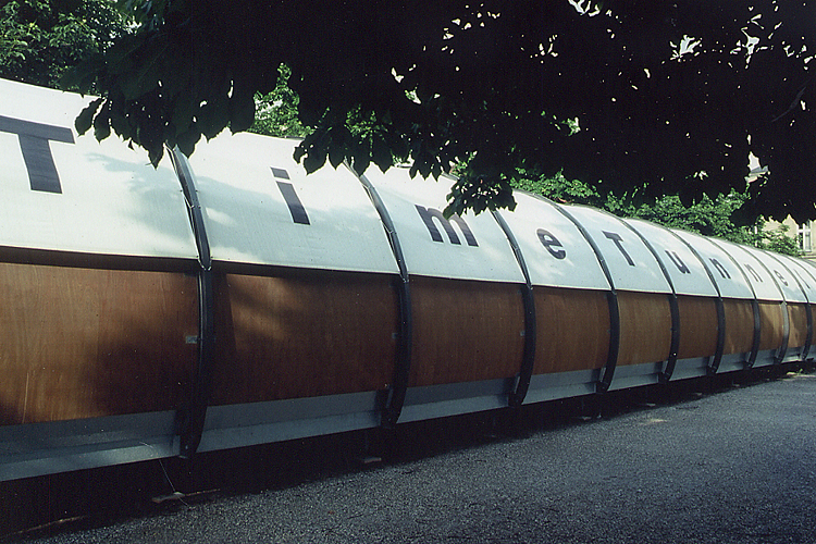 TT installation nomade dans l'espace public