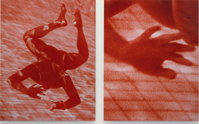 EXPRTT 4, 1990/1995, 120 x 155 cm / x2, tirages photographiques Cibachrome sur alucubond