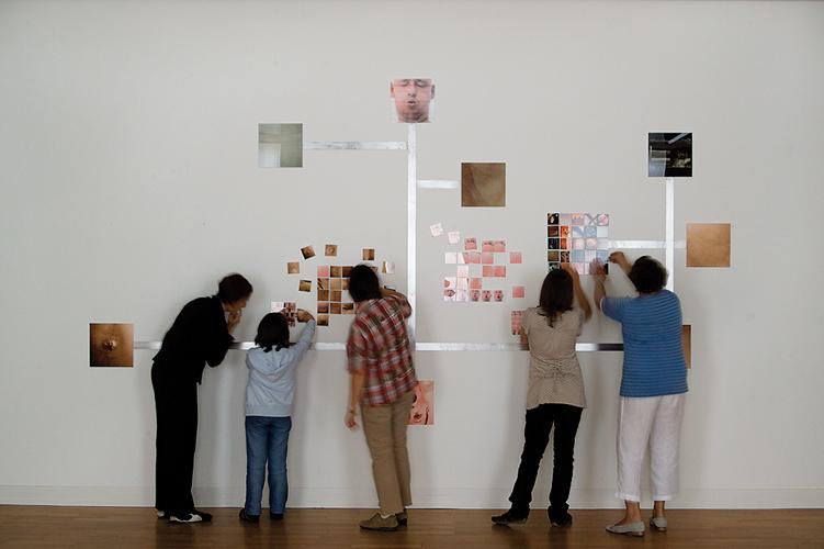 Installation hybride  interactive, centre d'art Stuttgart Sindelfingen, 2008