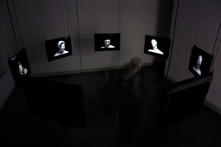 Installation vidéo, centre d'art Stuttgart Sindelfingen, 2008