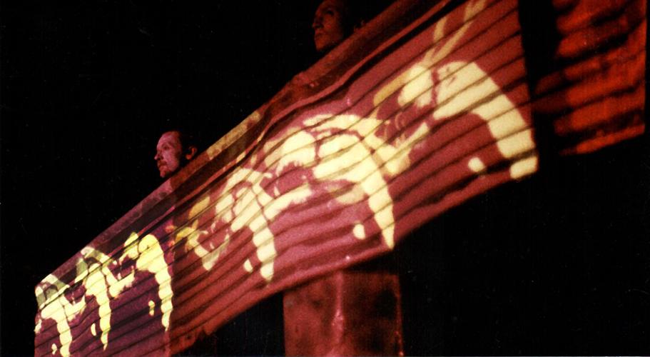 Performance Festival Argospektargo, parc central Stuttgart, 1984