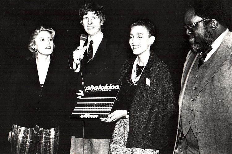 1er prix au cAVcom Festival, Photokina Cologne, 1984
