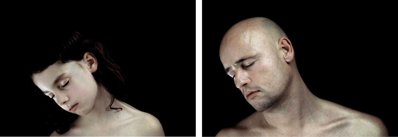 Traum-a 1, diptyque 50 cm x 35 cm / x2,  tirages photographique, contrecollés sous Diasec  4mm