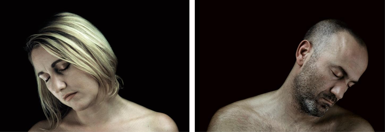 Traum-a 5, diptyque 50 cm x 35 cm / x2, tirages photographique, contrecollés sous Diasec  4mm