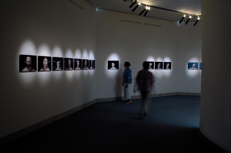 Travail photographique Traum-a, centre d'art Stuttgart-Sindelfingen 2008