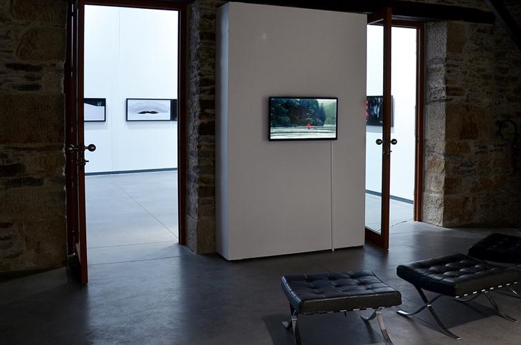 Dispositif Kitsune à l'Atelier, espace d'art contemporain de la ville de Nantes, 2014