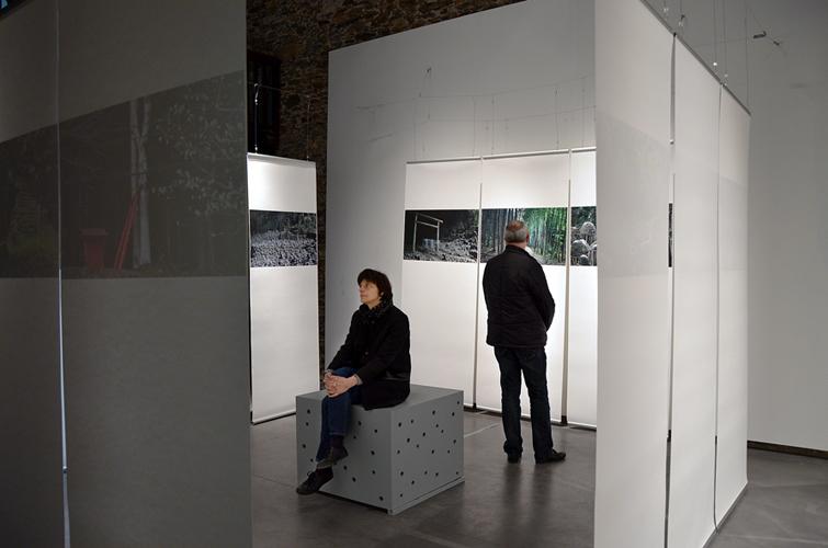 Installation SoulScape à l'Atelier, espace d'art contemporain de la ville de Nantes, 2014