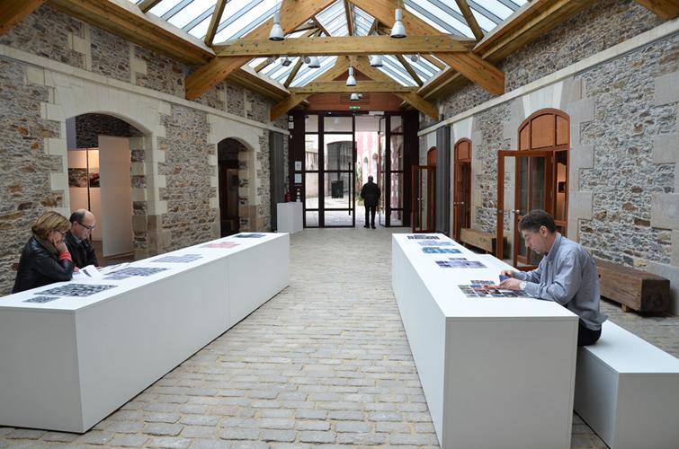 Dispositif memory à l'Atelier, espace d'art contemporain de la ville de Nantes, 2014