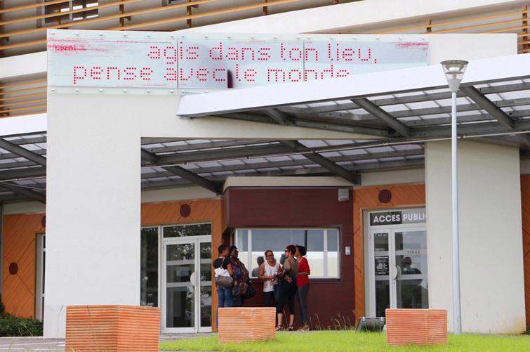 Arche entrée principale, Rectorat Academie Guadeloupe, 5_2017